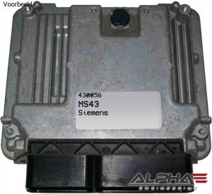 Tuning files for BMW E46 320i Siemens MS43 430056